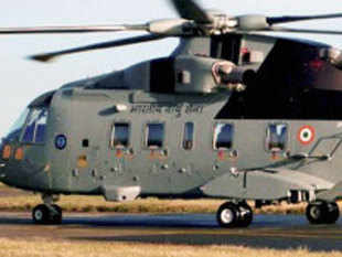 A file Photo of AW101 VVIP Airforce Helicopter. PTI