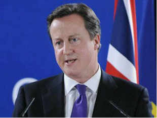 British PM David Cameron will begin a three-day official visit to India from tomorrow during which he will hold discussions with PM Manmohan Singh in New Delhi on February 19 and discuss bilateral and global issues of common interest. He will also call on President Pranab Mukherjee on the same day. The British PM has last visited India in July 2010.