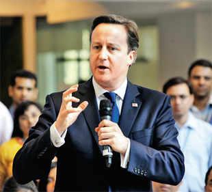 British PM David Cameron nudges HUL to tap future potential