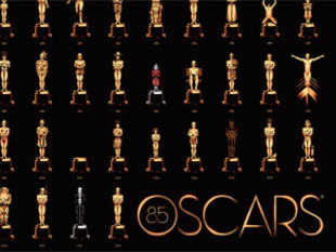 This Year's Oscars poster is one gigantic, cinematic brain teaser. Can you guess all 85 'Best Picture' winners?