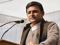 """The state will move ahead with this budget and the target of making UP 'Uttam Pradesh' (excellent state) will be achieved,"" Akhilesh told reporters here."