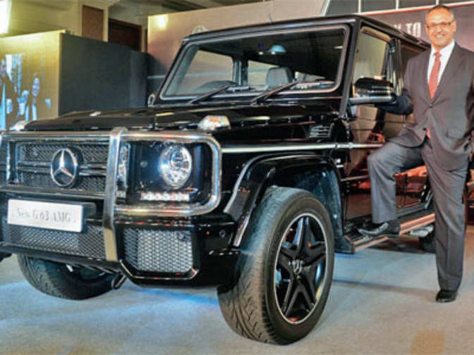 Mercedes benz india launches premium suv g class amg at rs for Mercedes benz suv india