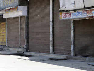 A trade union leader trying to stop a bus was killed in Ambala as the two-day nationwide strike called by trade unions disrupted normal life in many states.