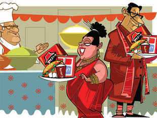 MNC food giants like Domino's, Costa Coffee, Haagen-Dazs eye a fast buck at Indian weddings