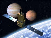 The Indian Space Research Organisation will also put in orbit the first of its seven satellites of the Indian Regional Navigation Satellite System (IRNSS).(Pic: AFP)