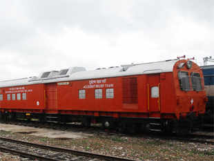 Railway Minister Pawan Kumar Bansal will announce the procurement proposal of 160 km per hour high-speed relief train in his maiden Rail Budget 2013-14 on February 26