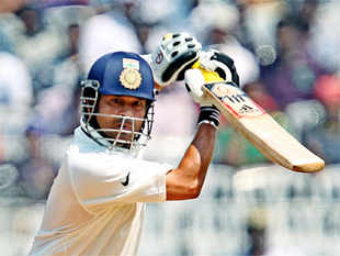 Cricket: Tendulkar strikes form, India 182/3 at stumps on Day 2