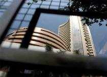 The Sensex rose by 14.68 points, or 0.08 per cent, to close at 19,331.69, mainly supported by Infosys and Tata Consultancy Services.