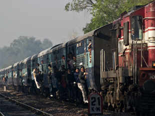 """The Opposition today slammed the Rail Budget for increasing the burden on the common man, with BJP terming it as """"pedestrian"""" and """"discriminatory"""". (Pic: AFP)"""