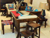 In a first, ethnic retail chain Fabindia has teamed up with artist Trishla Jain for a limited-edition collection of furniture, furnishings, giftware, ceramics and garments inspired by the young painter's art.