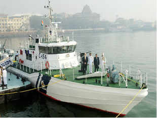 An Interceptor Boat (IB) was today inducted into the Indian Coast Guard, Andaman and Nicobar region here on Wednesday.
