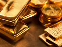 Gold fell in London on Wednesday after four sessions of gains, heading for the longest run of monthly losses since 1997, as mounting confidence that economies are recovering curbed demand for a protection of wealth.