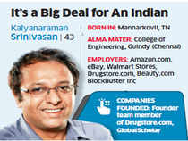 Srinivasan, who previously headed technology teams at eBay, Amazon and Walmart, joined Groupon last year as senior vice-president (sales), and soon rose to the rank of COO.