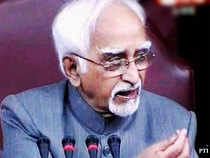 Ansari dispensed with the Question Hour and allowed members to make brief submissions on the occasion.