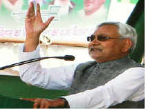 Nitish Kumar's comments were being interpreted as an attempt to maintain equidistance from both BJP as well as Congress ahead of the next general elections, and keeping his options safe for 2014.