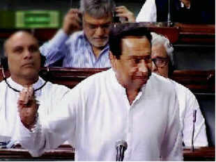 UPA made a last ditch attempt to placate DMK by promising an immediate discussion in the Lok Sabha on the Sri Lankan Tamil issue.