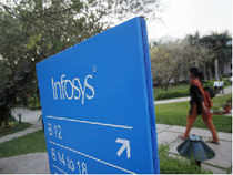 Infosys and TCS are slugging it out for the Rs 200-crore technology services contract from public sector lender Corporation Bank