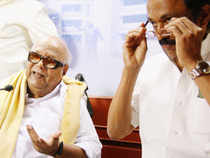 """Stalin said, """"We don't know why we are being raided. It's vendetta against DMK as we have pulled out of government"""" ."""