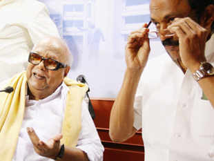 "Stalin said, ""We don't know why we are being raided. It's vendetta against DMK as we have pulled out of government"" ."