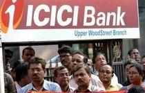 ICICI Bank's local shares fell 12.1 per cent in the past two weeks to close at Rs 1,001.55 on Wednesday, while its ADR fell 9.6 per cent in the same period to $40.6.