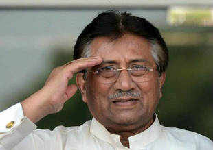 Pakistani authorities directed officials at airports across the country to bar former President Pervez Musharraf from going abroad.