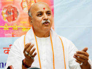 "VHP will declare Gujarat a ""Hindu state"" by 2015 besides having its presence in all 18,000 villages of the state in the next two years, the outfit's leader Pravin Togadia claimed today."