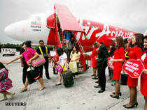 AirAsia, which has set up an Indian arm in partnership with the Tata Group, on Wednesday announced hiring flight attendants from April 13.