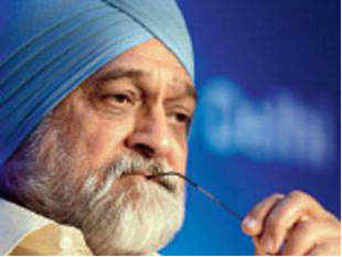 Planning Commission deputy chairman Montek Singh Ahluwalia has blamed the high reserve price for the failure of the first two rounds of airwaves sale.