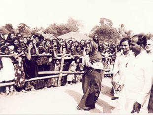 A file pic of former Prime Minister Indira Gandhi