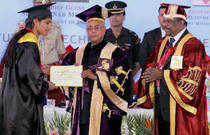 """President Pranab Mukherjee on Tuesday called for """"drastic action"""" to reform the way education is being imparted in universities."""