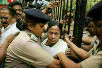 West Bengal chief minister Mamata Banerjee was admitted to a premier private clinic here on Wednesday with complaints of pain, breathing problem and palpitation and advised rest, shortly after returning from Delhi, where she faced angry CPI(M) protestors.