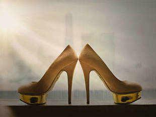 Women buy higher heels in a recession.