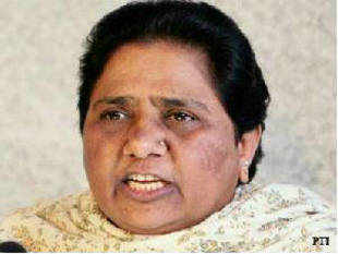 "BSP chief Mayawati today accused Samajwadi Party government in UP of indulging in political vendetta and said SP ""goons"" will be ""taught a lesson""."