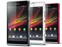Sony's latest Xperia SP has a 4.6-inch (1280 x 720 pixel) display and revamped transparent light strip (customisable to show notifications).