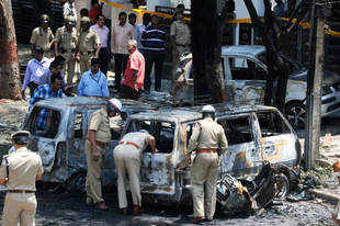 Indian Mujahideen involved in Bangalore blast?