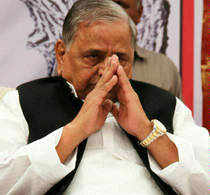 """Raising the pitch for Third Front, Samajwadi Party chief Mulayam Singh Yadav today said welfare of people will only take place when a government of """"third force"""" is installed at the Centre."""