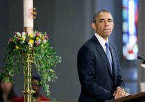 US President Barack Obama holds Situation Room meeting on Boston