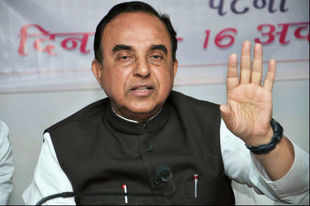 BJP nominee to be NDA candidate for PM's post: Subramanian Swamy