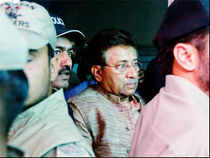 Pervez Musharraf appeared before an anti-terrorism court on Tuesday over the murder of former prime minister Benazir Bhutto, officials said.
