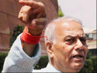 BJP leader Yashwant Sinha told ET that his party could not be expected to back the government in the face of grave provocations