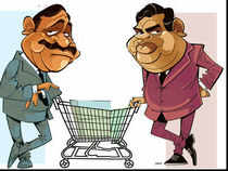 Mukesh Ambani followed Kishore Biyani into retail almost a decade later, but is breathing down his neck today.