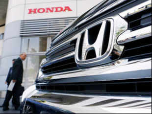 Japanese automaker Honda said Friday its net profit for the year to March soared 73.6 percent to $3.7 billion.
