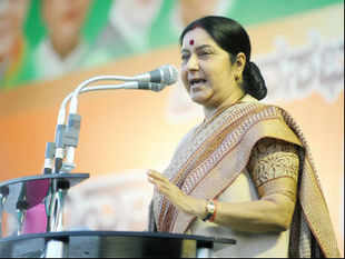 Swaraj, who's the leader of the opposition in the Lok Sabha, told reporters in Mangalore she was deeply concerned about reports of the incursions. (Pic by BCCL)