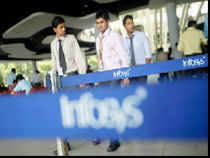 Shares of Infosys tanked on the day it announced its fourth quarter results.