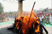 Sarabjit Singh's ashes immersed in Beas River