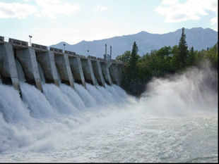 This will change once the dam comes up. For up to 20 hours a day, says the report, the dam will trap the river, releasing just 35 cumecs of water.