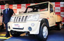 Auto major Mahindra & Mahindra launches Bolero Maxi Truck Plus