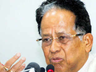 Tarun Gogoi dropped a bombshell when he said that some forces within his government together with the chit fund companies tried to replace him.