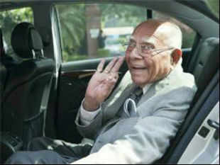 Suspended BJP MP Ram Jethmalani today gatecrashed into the Parliamentary Party meeting of the main opposition and accused it of being soft on the UPA government on the corruption issue.