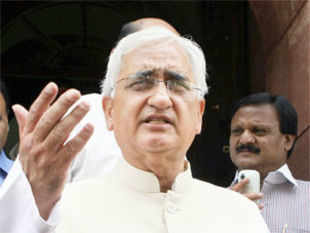 "Salman Khurshid said there was ""no deal"" between India and China for ending stand-off between the armies of the two countries in Ladakh."